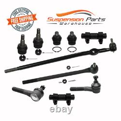 RWD Front Steering Rebuild Kit Tie Rod End Ball Joint For 92-97 Ford Ranger