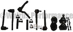STEERING Rebuild Kit Tie Rods+Idler Arm+BALL JOINTS for 1964-67 Chevy Chevelle