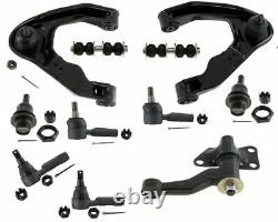 Steering Kit Fit Nissan Xterra SE 3.3L XE 2.4L Tie Rods Ball Joints Control Arm