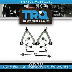 TRQ 10 Piece Kit Control Arm Ball Joint Tie Rod End Sway Bar Link for H3 New