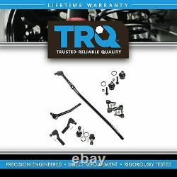 TRQ 10pc Kit Tie Rod End Sway Bar Drag Link Ball Joint for Ford Van