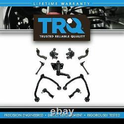TRQ 11 pc Suspension Control Arm Tie Rod Kit Front for 95-02 Kia Sportage NEW