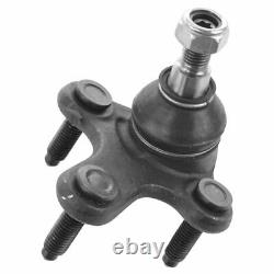 TRQ 8pc Steering Suspension Kit Ball Joint Control Arm Tie Rod Sway Bar Link