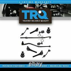 TRQ Ball Joint Tie Rod Drag Link Sway Steering Kit 11 pc for 97-06 Wrangler TJ