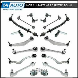 TRQ Control Arm Tie Rod Ball Joint Suspension Kit for BMW 525i 530i 528i E39