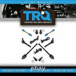 TRQ For 99-06 07 Silverado Sierra Tahoe 13pc Ball Joint Tie Rod Suspension Kit