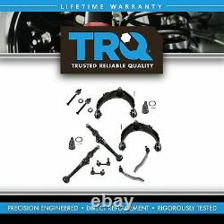 TRQ Front Control Arm Ball Joint Tie Rod Sway Bar Link Set 12pc for Accord CL TL