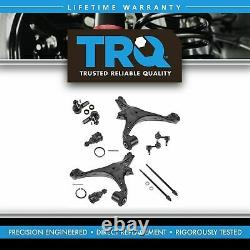 TRQ Front Control Arm Ball Joint Tie Rod Sway Bars Set Kit for 01-05 Honda Civic