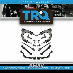 TRQ Front Control Arms Sway Bar End Links Kit Set for Chrysler Dodge Mitsubishi