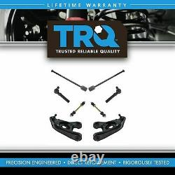 TRQ Front Steering & Suspension Kit Control Arms Sway links Tie Rods 8pc New