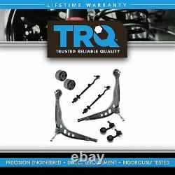 TRQ Lower Control Arm Ball Joint Inner Outer Tie Rod Sway Bar End for BMW E30