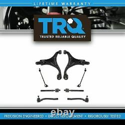 TRQ Steering & Suspension Kit Control Arms Ball Joints Sway Links Tie Rod Kit