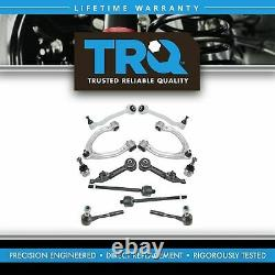 TRQ Suspension Kit Control Arm Ball Joint Tie Rod for Mercedes S350 S430 S500