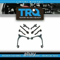TRQ Upper Control Arm Lower Ball Joint Tie Rod Set 8pc for GS300 GS400 GS430