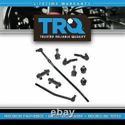 TRQ Upper Lower Ball Joint Inner Outer Tie Rod Adjusting Sleeve for E250 E350