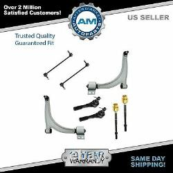 Tie Rod Sway Bar Link & Control Arm Front Set of 8 for Chevy Pontiac Saturn