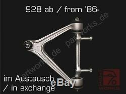 Triangle Control Arm Porsche 928 S4/Gt / GTS off'86- in Spare Sport Upper Left