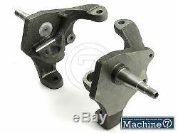 VW Ball Joint Disk Drop Spindles Steering Knuckle Lowering Kit Beetle Bug Ghia